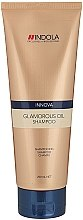 Glanz-Shampoo für alle Haartypen - Indola Innova Glamorous Oil Shampoo — Bild N1