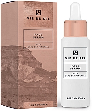 Düfte, Parfümerie und Kosmetik Pflegendes Gesichtsserum mit Mineralien aus dem Toten Meer - Vie De Sel Face Serum
