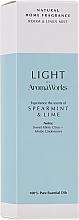 Düfte, Parfümerie und Kosmetik Raumspray mit Minz- und Limettenduft - AromaWorks Light Range Room Mist