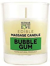 Düfte, Parfümerie und Kosmetik Massagekerze Bubble Gum - Sezmar Collection Bubble Gum