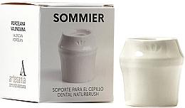 Düfte, Parfümerie und Kosmetik Zahnbürstenhalter aus Porzellan weiß - NaturBrush Sommier Toothbrush Holder