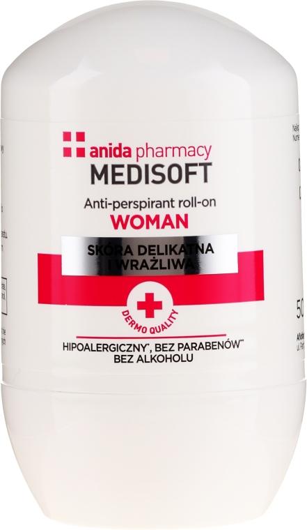 Antitranspirant - Anida Pharmacy Medisoft Woman Deo Roll-On