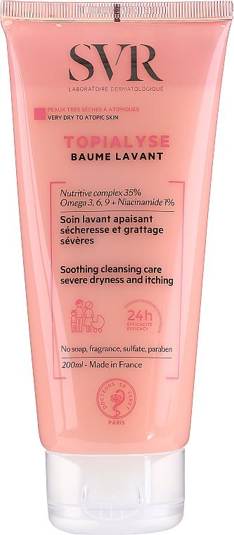Reinigender Gesichts- und Körperbalsam für sehr trockene und atopische Haut - SVR Topialyse Baume Lavant