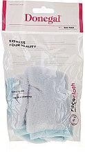 Düfte, Parfümerie und Kosmetik Mikrofaser-Waschlappen zur Gesichtsreinigung 4320 weiß-blau - Donegal