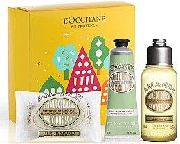 Düfte, Parfümerie und Kosmetik Körperpflegeset - L'Occitane Almond (Duschöl 75ml + Seife 50g + Handcreme 30ml)