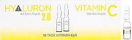 Düfte, Parfümerie und Kosmetik Gesichtsampullen - Alcina Hyaluron 2.0 & Vitamin C Ampulle
