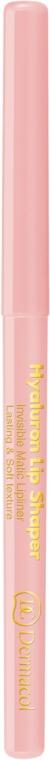 Transparenter Lippenkonturenstift - Dermacol Hyaluron Lip Shaper