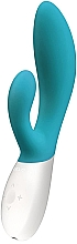 Düfte, Parfümerie und Kosmetik Wasserdichter Rabbit-Vibrator aus Silikon meeresblau - Lelo Ina Wave Ocean Blue