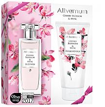Düfte, Parfümerie und Kosmetik Allverne Cherry Blossom & Musk - Duftset (Eau de Parfum/50ml + Körperlbalsam/200ml)