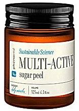 Düfte, Parfümerie und Kosmetik 2in1 Zuckerpeeling und Maske für das Gesicht mit Erdbeer- und Rosensamen - Phenome Multi Active Sugar Peel