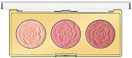 Düfte, Parfümerie und Kosmetik Rouge-Palette - Milani Powder Blush Rose Blush Palette