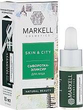 Düfte, Parfümerie und Kosmetik Aufbauendes und schützendes Gesichtsserum mit Schneepilz - Markell Cosmetics Skin&City