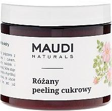 """Düfte, Parfümerie und Kosmetik Zucker- Körperpeeling """"Rose"""" - Maudi"""