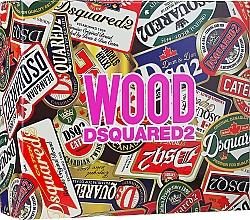 Düfte, Parfümerie und Kosmetik Dsquared2 Wood Pour Femme - Duftset (Eau de Toilette 50ml + Duschgel 50ml + Körperlotion 50ml)