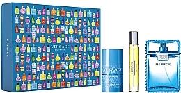 Düfte, Parfümerie und Kosmetik Versace Man Eau Fraiche - Duftset (Eau de Toilette 100ml + Eau de Toilette Mini 10ml + Deostick 75ml)