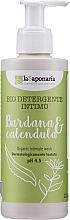 Düfte, Parfümerie und Kosmetik Intimhygienegel mit Klette und Ringelblume - La Saponaria Burdock & Calendula Intimate Wash