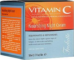 Düfte, Parfümerie und Kosmetik Pflegende Nachtcreme mit Vitamin C - Frulatte Vitamin C Nourishing Night Cream