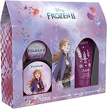 Düfte, Parfümerie und Kosmetik Disney Frozen II Anna - Duftset für Mädchen (Eau de Toilette 50ml + Duschgel 50ml)