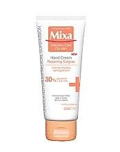Düfte, Parfümerie und Kosmetik Feuchtigkeitsspendende Hand- und Nagelcreme - Mixa Intensive Care Dry Skin Hand Cream Repairing Surgras