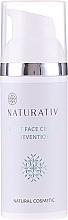Düfte, Parfümerie und Kosmetik Reparierende und straffende Anti-Aging Nachtcreme für Gesicht und Hals - Naturativ Facial Night Cream 30+