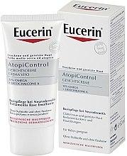 Düfte, Parfümerie und Kosmetik Pflegende Gesichtscreme für trockene und gereizte Haut mit Lakritzextrakt - Eucerin AtopiControl Face Care Cream
