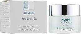 Düfte, Parfümerie und Kosmetik Pflegende Gesichtsmousse für Tag und Nacht mit Algen - Klapp Sea Delight Day & Night Mousse