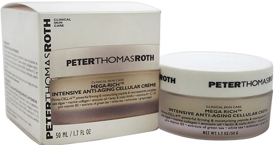 Intensive Anti-Aging zelluläre Gesichtscreme - Peter Thomas Roth Mega-Rich Intensive Anti-Aging Cellular Cream — Bild N2