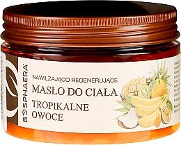 """Düfte, Parfümerie und Kosmetik Feuchtigkeitsspendende und regenerierende Körperbutter """"Tropische Früchte"""" - Bosphaera"""