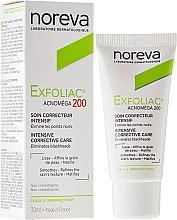 Düfte, Parfümerie und Kosmetik Mattierende und keratoregulierende Gesichtscreme für unreine und zu Akne neigende Haut - Noreva Laboratoires Exfoliac Acnomega