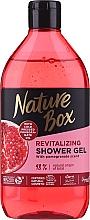 Düfte, Parfümerie und Kosmetik Duschgel mit Granatapfel-Öl - Nature Box Pomegranate Oil Shover Gel
