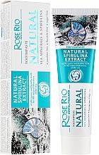 """Düfte, Parfümerie und Kosmetik Zahnpasta """"All In One Protection"""" - Rose Rio Natural Sea Minerals & Spirulina Toothpaste"""