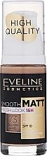 Düfte, Parfümerie und Kosmetik Langanhaltende und glättende Foundation LSF 10 - Eveline Cosmetics Smooth Matt SPF10