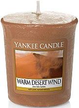 """Düfte, Parfümerie und Kosmetik Duftkerze """"Warm Desert Wind"""" - Yankee Candle Warm Desert Wind"""