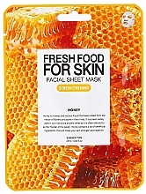 Düfte, Parfümerie und Kosmetik Festigende und nährende Tuchmaske mit Honig - Superfood For Skin Facial Sheet Mask Honey Strenghtening