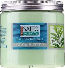 Düfte, Parfümerie und Kosmetik Körperbutter mit Grünteeduft - Saito Spa Body Butter