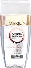 Düfte, Parfümerie und Kosmetik Zweiphasiger Make-up Entferner mit Arganöl - Marion Golden Skin Care