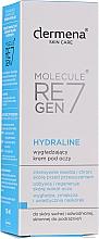 Düfte, Parfümerie und Kosmetik Intensiv feuchtigkeitsspendende und glättende Augenkonturcreme - Dermena Skin Care Hydraline Eye Cream