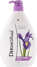 Düfte, Parfümerie und Kosmetik Creme-Seife mit Talk und Iris - Dermomed Cream Soap Talc And Iris