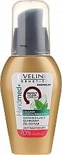 Düfte, Parfümerie und Kosmetik Antibakterielles Handgel mit Teebaumöl - Eveline Cosmetics Handmed+, 70% Alcohol