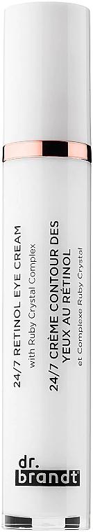 Anti-Aging Augencreme mit Retinol - Dr. Brandt 24/7 Retinol Eye Cream