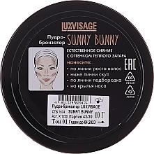 Bronzierpuder - Luxvisage Sunny Bunny Bronzing Powder — Bild N2