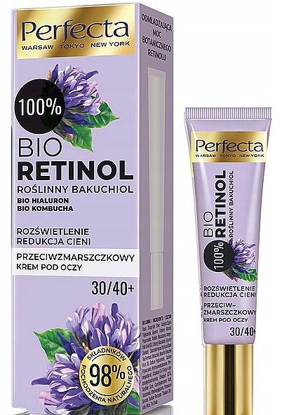 Augencreme gegen Falten 30+/40+ - Perfecta Bio Retinol 30+/40+ Eye Cream