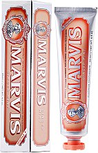 Düfte, Parfümerie und Kosmetik Xylit-Zahnpasta mit Ingwer und Minze - Marvis Ginger Mint + Xylitol