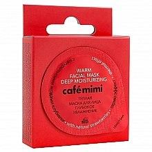 Düfte, Parfümerie und Kosmetik Tief feuchtigkeitsspendende wärmende Gesichtsmaske mit natürlichen Erdbeeren - Cafe Mimi