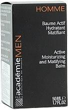 Feuchtigkeitsspendender und mattierender Aktiv-Balsam - Academie Men Active Moist & Matifying Balm — Bild N3