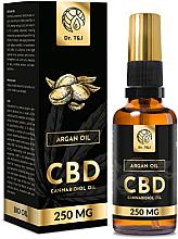 Düfte, Parfümerie und Kosmetik Natürliches Arganöl CBD 250 mg - Dr. T&J Bio Oil