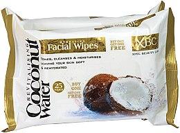 Düfte, Parfümerie und Kosmetik Reinigungstücher für das Gesicht - Xpel Marketing Ltd Coconut Water Facial Wipes
