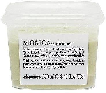 Revitalisierender Conditioner für feines, chemisch behandeltes Haar - Davines Momo Moisturizing Conditioner