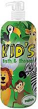Düfte, Parfümerie und Kosmetik 2in1 Bade- und Duschgel für Kinder mit Melonenduft - Hegron Kid's Melon Bath & Shower