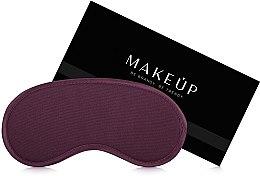 Düfte, Parfümerie und Kosmetik Schlafmaske Classic bordeauxrot - MakeUp